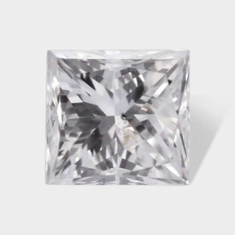 0.16 ctw 3 05 x 2 87 mm G White Color SI3 Clarity Princess Cut Real Diamond | Loose Diamonds | Scoop.it