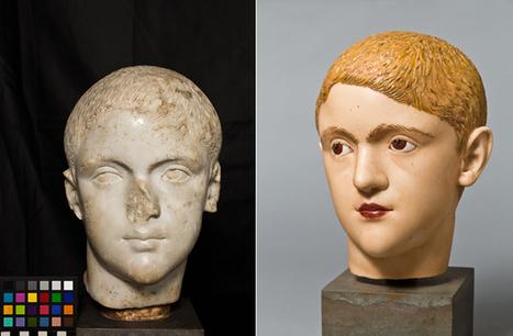 A quoi ressemblent les sculptures de l'Antiquité en couleur ? | Slate.fr | Le numérique pour la conservation du patrimoine | Scoop.it