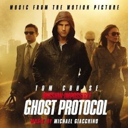 Mission Impossible: Ghost Protocol: Michael Giacchino Cover Art revealed at Amazon.com | Soundtrack | Scoop.it
