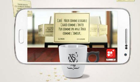 Guy Degrenne invite la réalité augmentée au petit déjeuner   Nouveaux horizons et innovation   Scoop.it