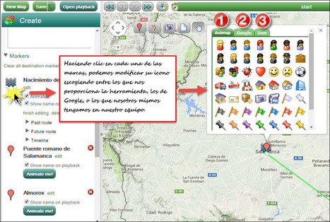 En marcha con las TIC - Tus mapas cobran vida con Animaps | Online Learning: More Than Just a MOOC #SPANISH | Scoop.it