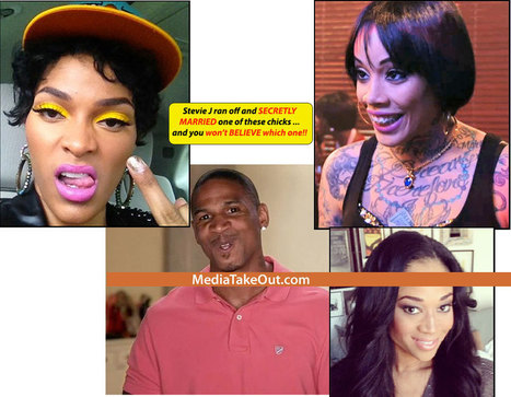 MTO SUPER WORLDWIDE LOVE AND HIP HOP EXCLUSIVE: Stevie J Got MARRIED . . . And You Won't BELIEVE With Which Chick!!! (Photographic Evidence Inside) - MediaTakeOut.com™ 2013 | GetAtMe | Scoop.it