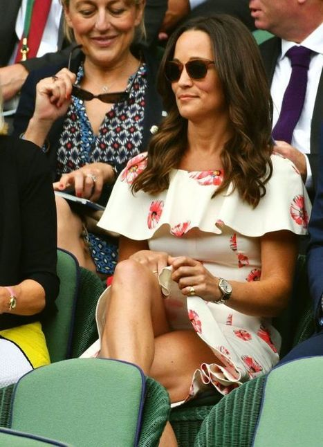 Photos : Oops sous la jupe sexy de Pippa Middleton à Wimbledon 2016 | Radio Planète-Eléa | Scoop.it