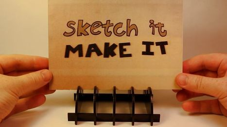 Sketch It, Make It | Design Technology- Background Knowledge and Skills Required of Teachers | Scoop.it