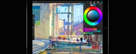 5 Essential iPad Apps for Artists & Designers | Student Engagement for Learning | Scoop.it