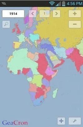 Los mapas a través del tiempo, desde tabletas Android - Educación 3.0   Educacion, ecologia y TIC   Scoop.it