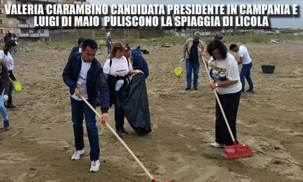 Il #M5S pulisce le spiagge della #Campania per rilanciare il #turismo | ALBERTO CORRERA - QUADRI E DIRIGENTI TURISMO IN ITALIA | Scoop.it