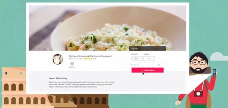 Un projet basé sur Airbnb pour déguster des plats préparés par des locaux | Restauration, quand le digital relève le plat... et crée le trafic. | Scoop.it