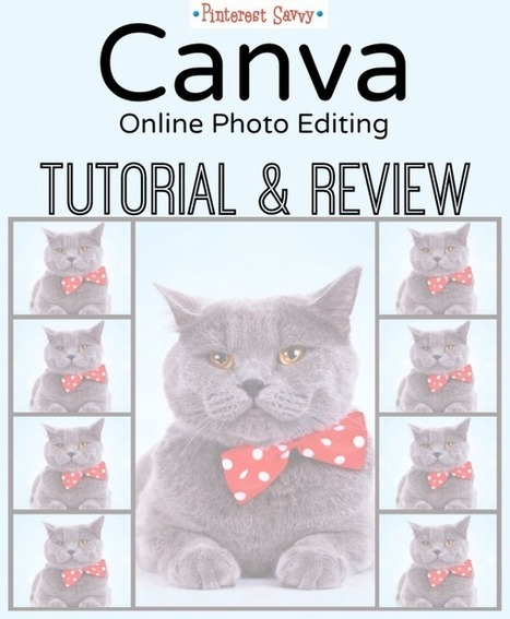 Review of Canva, the New Photo Editing Site | Pinterest for Business | Scoop.it