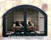 Zero Clearance Blacksmith Glass Door | Fireplace Glass Doors | Scoop.it
