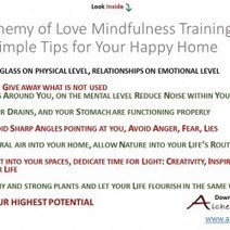 7 Simple Feng Shui Mindfulness Tips for Happy Home   Visual.ly   Power of Mind & Mindfulness   Scoop.it