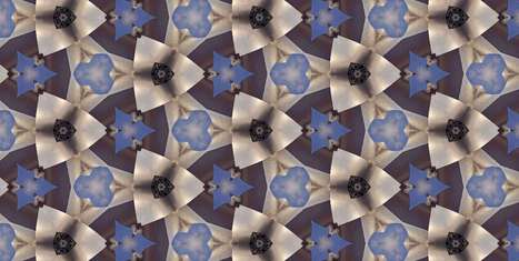 Create Your Own Kaleidoscopic Surfaces With Infinite Possibilities | Design | Scoop.it