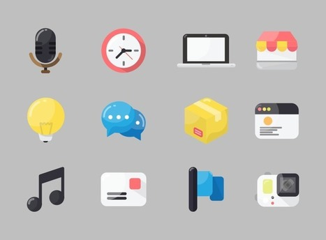 Free icons by first-class designers - IconStore | Students Learning with Laptops | Scoop.it