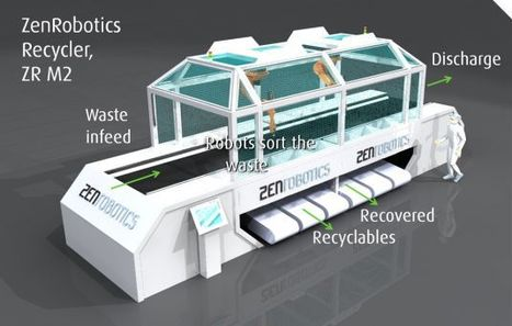 Robot Separates Recyclables from Other Garbage - video - NTDTV.com | Finland | Scoop.it