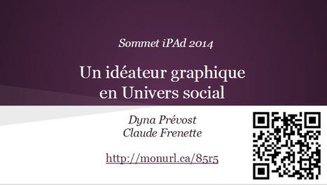Sommet iPad 2014: Un idéateur graphique en univers social | TICE | Scoop.it