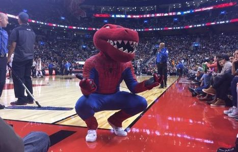 Raptors mascot goes all in with 21 Halloween costume changes in one night   Mascots   Scoop.it