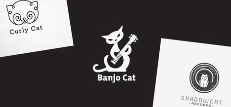 Logo Design: Cats | Abduzeedo | Graphic Design Inspiration and Photoshop Tutorials | Visual Inspiration | Scoop.it