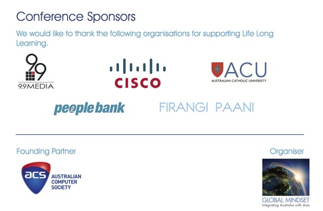 """Sponsors and Founding Partner for supporting """"Life Long Learning"""". 
