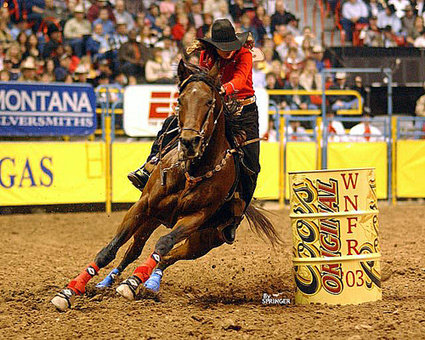 March 2013 Diamonds & Dirt Barrel Horse Classic competition | Horse Evolu | Scoop.it