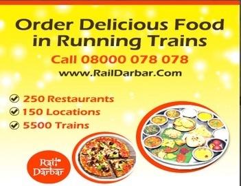 Food In Train-Rail Darbar | Rail Darbar Travel Services Pvt. Ltd | Scoop.it