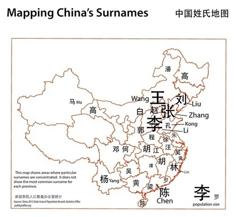 How Maps Unlock the Mysteries of Chinese Names | Regional Geography | Scoop.it