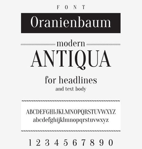8 New Free Fonts for Your Designs | Freebies | Communication - Viralité | Scoop.it