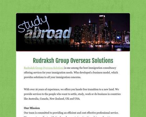 Rudraksh Group Overseas Solutions - Tackk   Rudraksh Group   Scoop.it