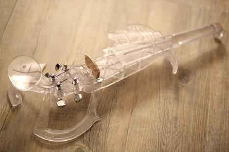 3DVarius : le premier violon haut de gamme made in France en impression 3D est sur Kickstarter | ON-ZeGreen | Scoop.it