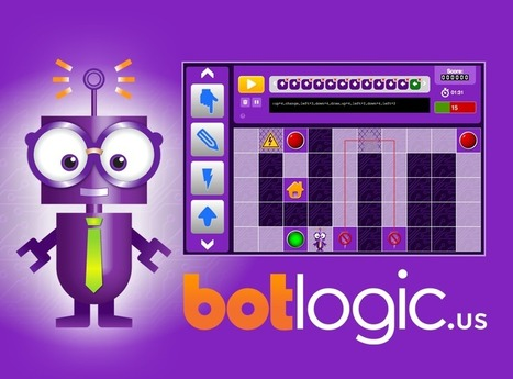BotLogic.us - A Fun, Challenging, and Educational Puzzle Game! | Tecnología Educativa S XXI | Scoop.it