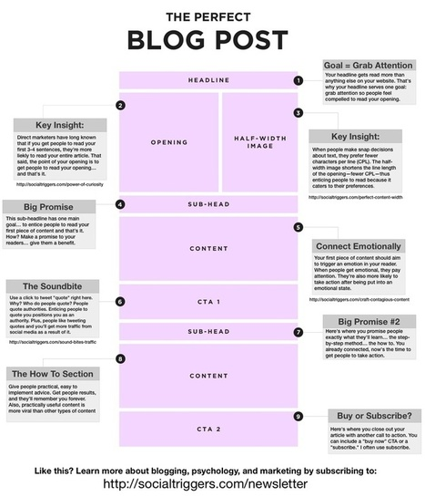The Perfect Blog Post | InformationCommunication (ICT) | Scoop.it