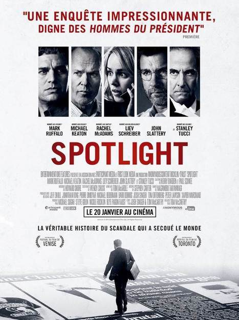 Spotlight / Tom McCarthy | Nouveautés DVD | Scoop.it
