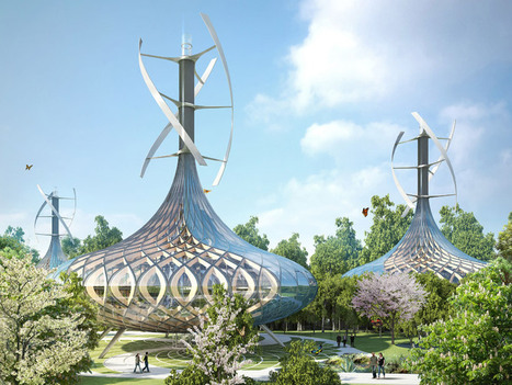 Eco Villa Concepts in Flavors Orchard, China by Vincent Callebaut Architecture | green streets | Scoop.it