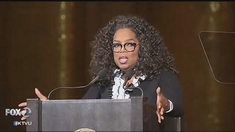 KTVU Fox 2: Oprah Winfrey draws full house for Stanford address   USF in the News   Scoop.it