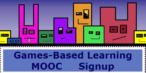 Games-Based Learning MOOC3 | Educators CPD Online | Scoop.it
