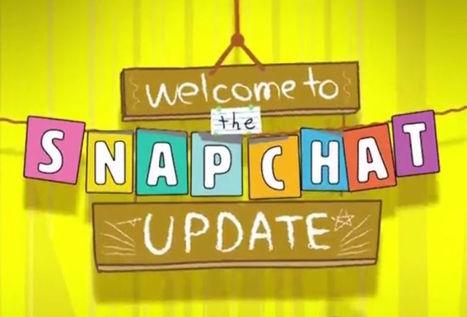 SnapChat dévoile son Chat 2.0 | Web et reseaux sociaux | Scoop.it