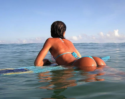Sometimes you just need a surfboard. - KCCOdecals.com | KCCO Stickers | Scoop.it