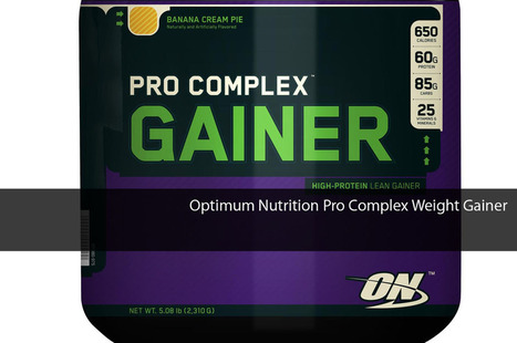 Optimum Nutrition Pro Complex Weight Gainer | Health Wellness And Fitness.com | Scoop.it