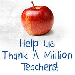 Thank a Million Teachers | Technology in classroom | Scoop.it