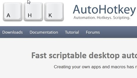 AutoHotkey | Hub Manager | Scoop.it