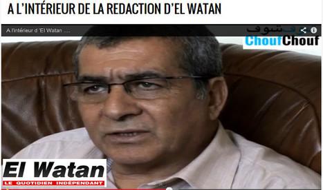 A l'intérieur de la redaction d'El Watan | DocPresseESJ | Scoop.it