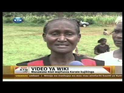 Video of the week : Nyeri women take Karate classes (Swahili ... | Self Protection | Scoop.it