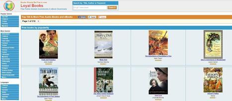 4 sites pour écouter des livres audio en anglais | Les Infos de Ballajack | Des ressources numériques pour enseigner | Scoop.it