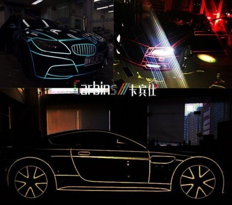TRON-Like Reflective Supercars Are the Newest Thing in China | Strange days indeed... | Scoop.it