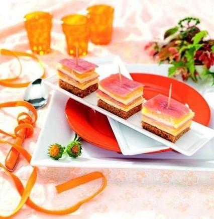 Millefeuille sucré/salé à la mangue et à la Tomme de Savoie | The Voice of Cheese | Scoop.it