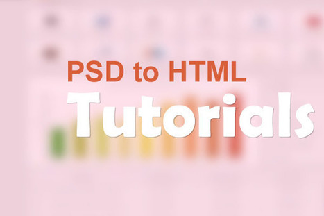 Skilled Web Designer Only by Knowing PSD to HTML Tutorials? | website design | Scoop.it