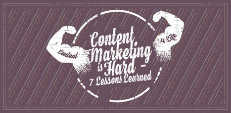 Is Content Marketing Hard? 7 Lessons Learned +1 (Curation) | Pedalogica: educación y TIC | Scoop.it