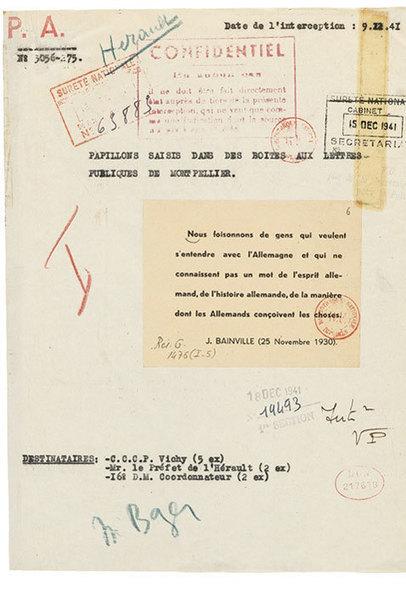 Tracts et papillons clandestins de la Résistance, Papiers de l'urgence - Éditions Artulis | Fil info Ressources 2 | Scoop.it