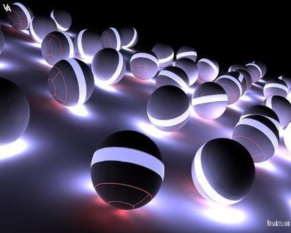 Balls Abstract | High Resolution Wallpapers | Scoop.it
