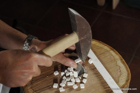 Opus Tessellatum: Como cortar las teselas | Mundo Clásico | Scoop.it