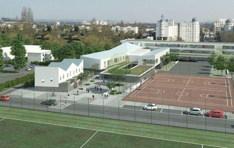 Le futur collège de Pontoise construit en un temps record | Aménagement et urbanisme en Val-d'Oise | Scoop.it